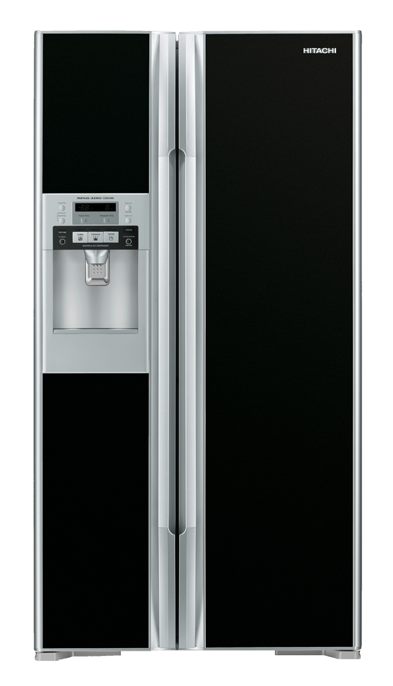Hitachi Side By Side Fridge With Water Dispenser Rs700ggs8