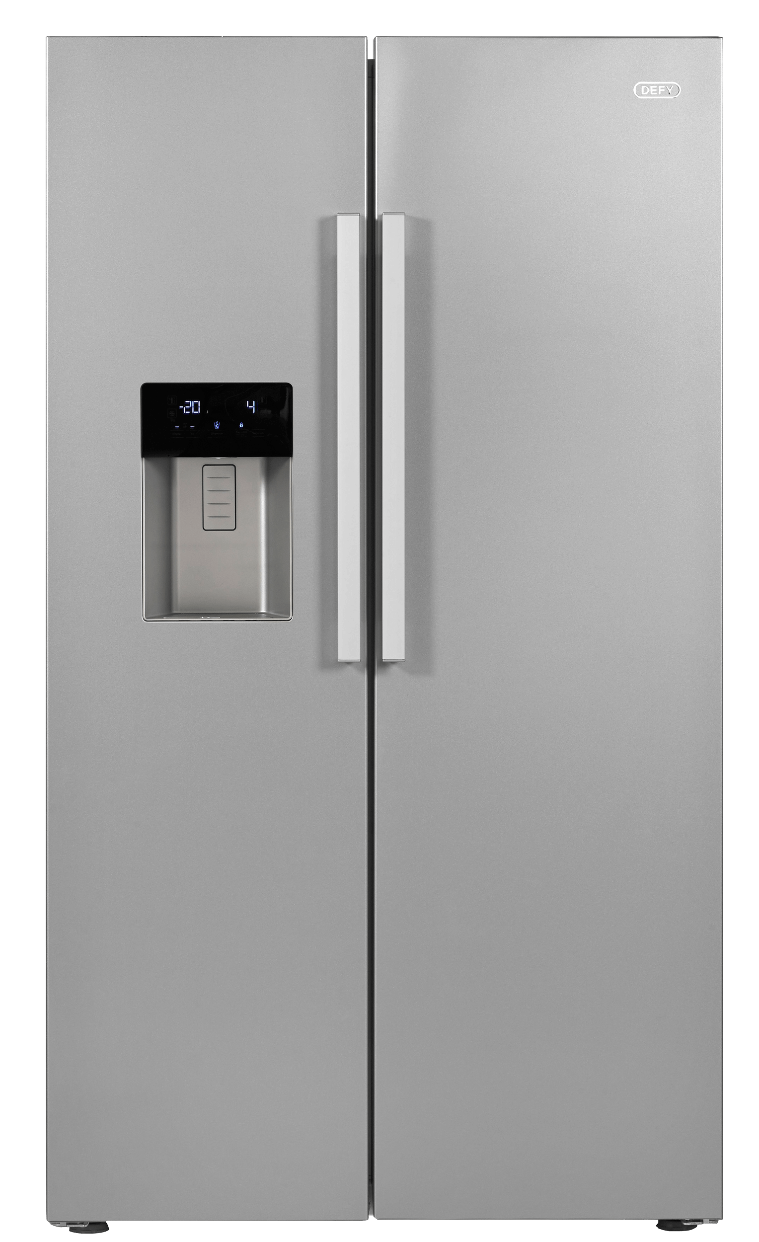 Defy Side By Side Fridge With Ice Water Dispenser Dff420