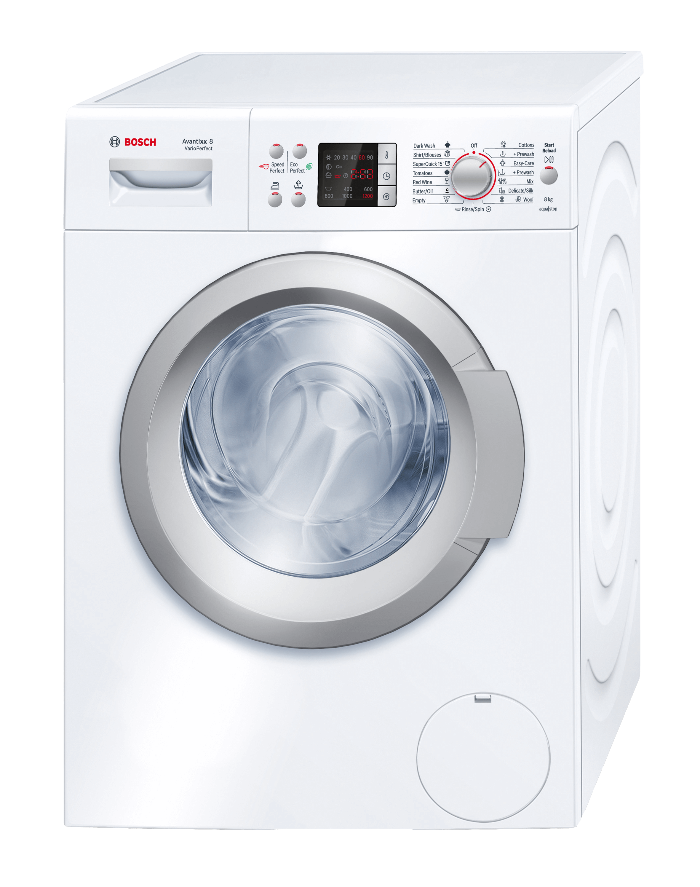 small front loader washing machine dimensions