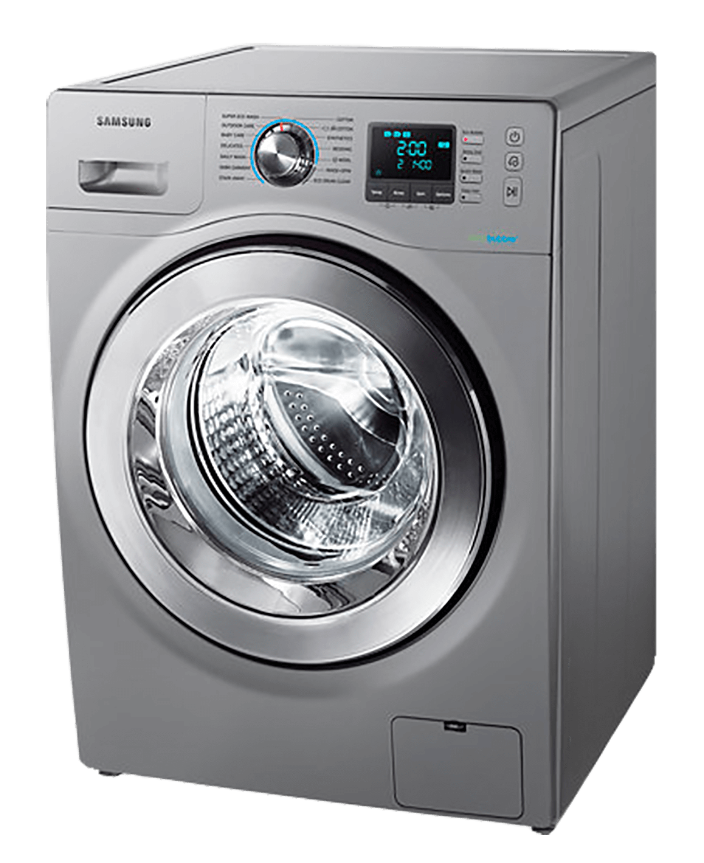 Samsung Front Loader Washing Machine Silver Model