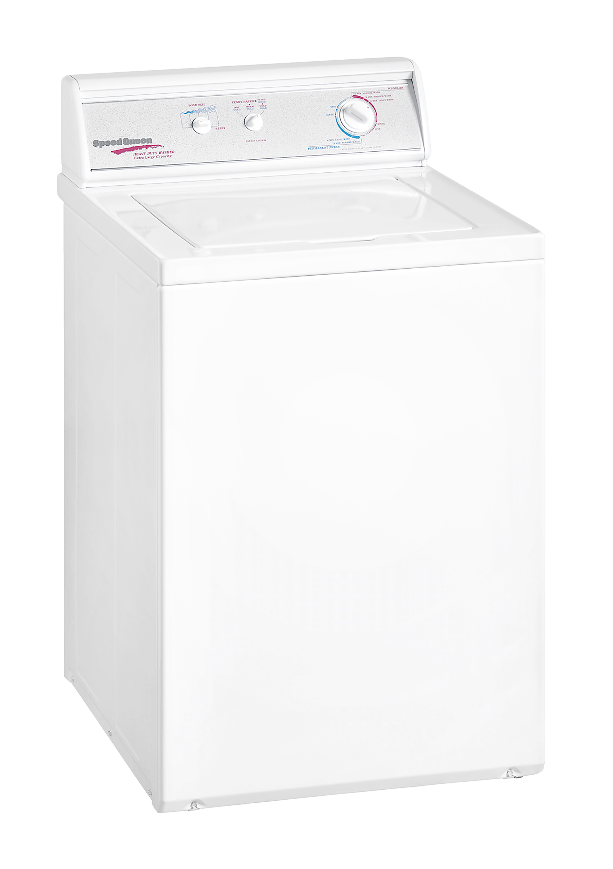 Speed Queen Top Loader Washing Machine White Model