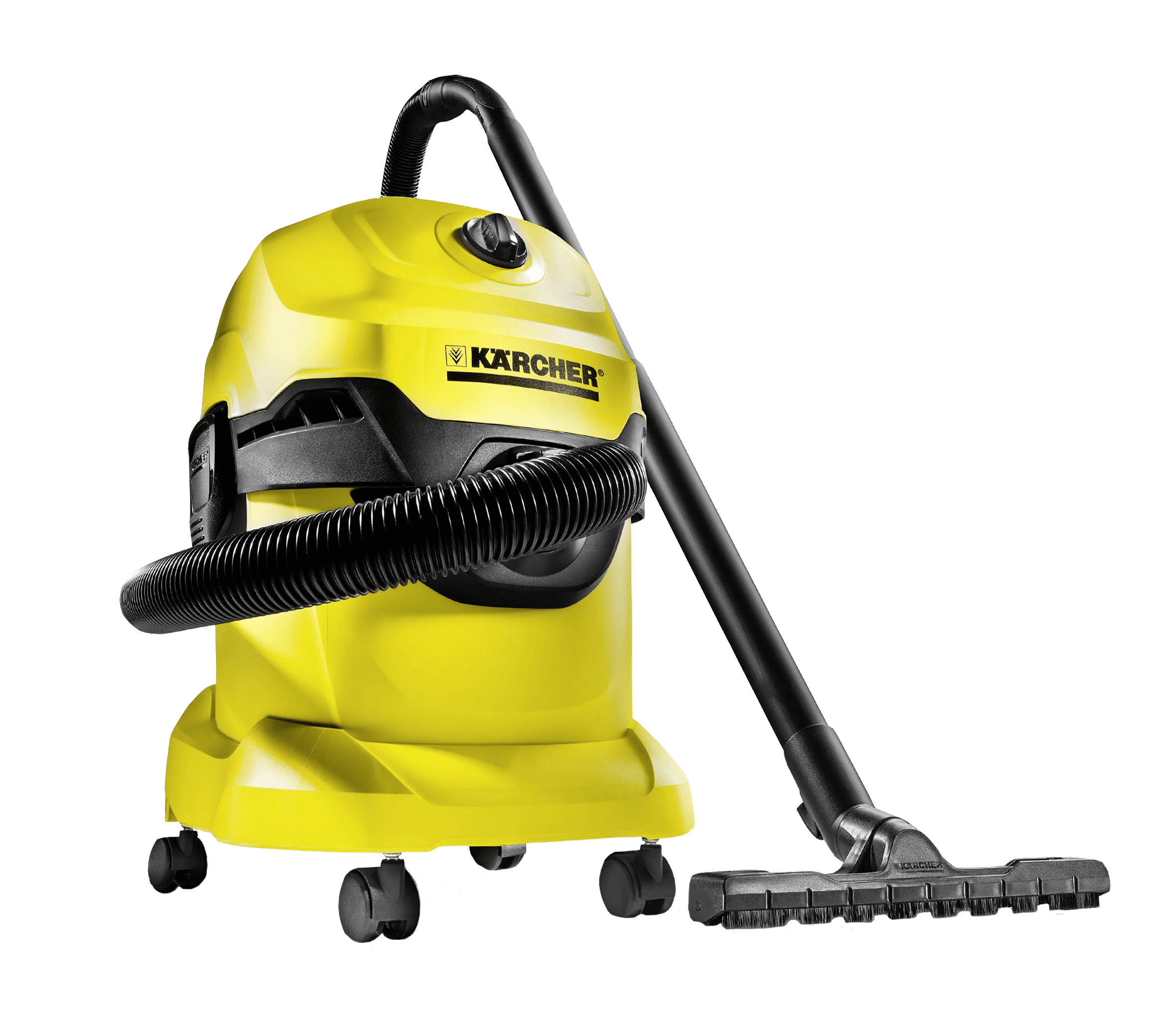 KARCHER VACUUM CLEANER YELLOW MODEL WD4