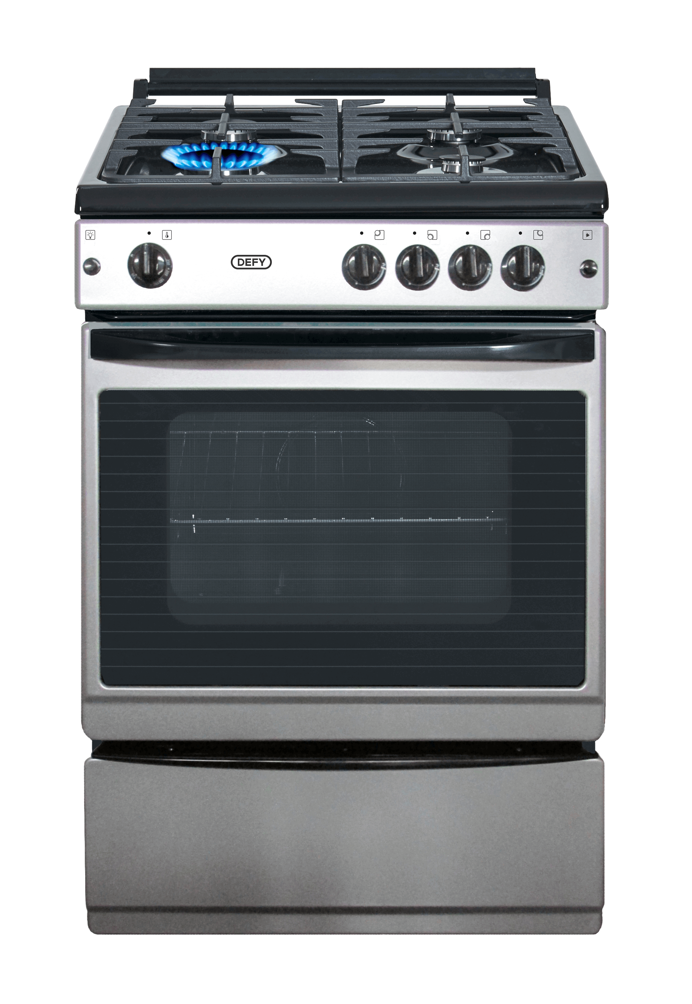 Defy Full Gas Stove S Steel Model Dgs172 Newappliances