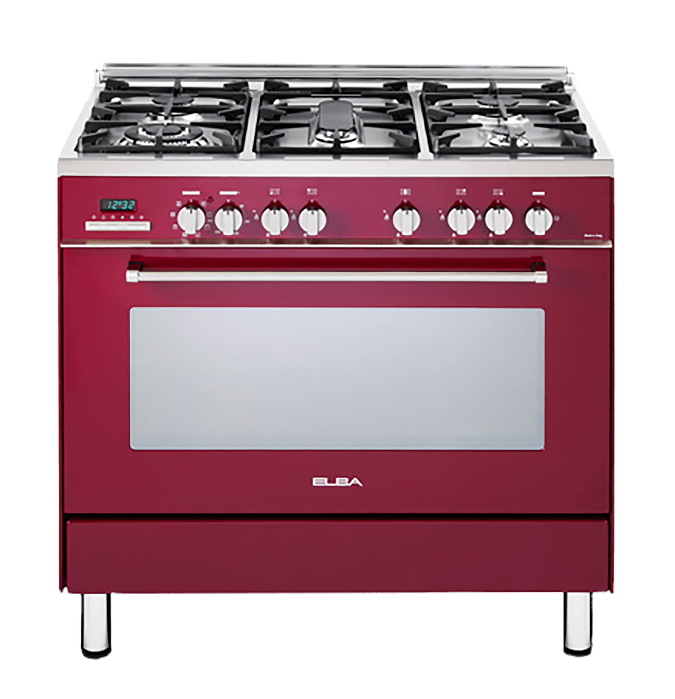 Gas Electric Stove Red Model 01 9937r