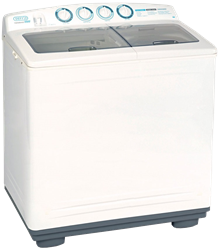 DEFY TWIN TUB WASHING MACHINE (METALLIC) MODEL: DTT162