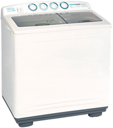DEFY TWIN TUB WASHING MACHINE (WHITE) MODEL: DTT161