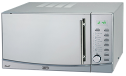 DEFY MICROWAVE OVEN WITH GRILL (S/STEEL)MODEL: DMO343