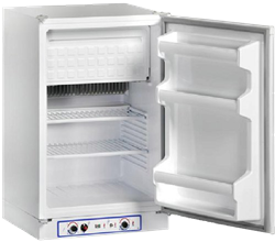 ZERO <BR /> GAS ELECTRIC FRIDGE (WHITE) <BR />MODEL: CR100