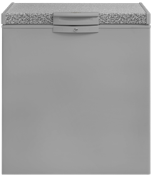 DEFY CHEST <BR /> FREEZER (METALLIC) <BR />MODEL: DMF451