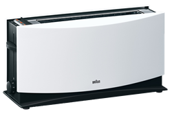 BRAUN TOASTER (WHITE) MODEL: HT550W
