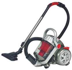DEFY VACUUM CLEANER (RED) MODEL: VC1403RS