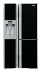 HITACHI 3 DOOR SIDE BY SIDE FRIDGE WITH WATER DISPENSER RM700GGS8.GB