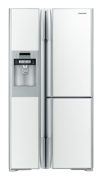 HITACHI 3 DOOR SIDE BY SIDE FRIDGE WITH WATER DISPENSER RM700GGS8.GW