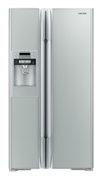 HITACHI SIDE BY SIDE FRIDGE WITH WATER DISPENSER RS700GGS8.GS