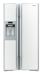 HITACHI SIDE BY SIDE FRIDGE WITH WATER DISPENSER RS700GGS8.GW