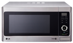 LG MICROWAVE OVEN WITH GRILL (SILVER)MODEL: MH8082X