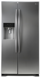 LG SIDE BY SIDE FRIDGE WITH WATER DISPENSER GC-L207GLQV