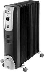 DELONGHI OIL HEATER KH771225CB