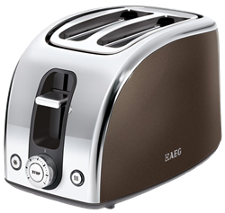 AEG <BR /> TOASTER (BROWN) <BR />MODEL:  AT7100B-S