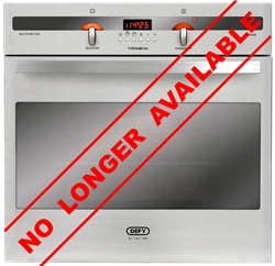 DEFY BUILT IN <BR /> OVEN (S/STEEL) <BR />MODEL: DBO454