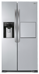 LG SIDE BY SIDE FRIDGE WITH WATER DISPENSER GC-P207GLYV