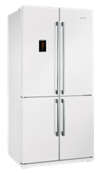 SMEG 4 DOOR SIDE BY SIDE FRIDGE FQ60BPE