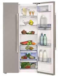 DEFY F740 ECO SIDE BY SIDE FRIDGE DFF421