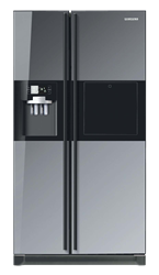 SAMSUNG SIDE B SIDE FRIDGE WITH WATER-ICE DISPENSER RS21HFLMR1