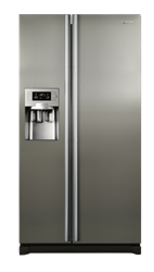 SAMSUNG SIDE B SIDE FRIDGE WITH WATER-ICE DISPENSER RS21HDTPN1