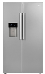 DEFY SIDE BY SIDE FRIDGE WITH ICE-WATER DISPENSER DFF420