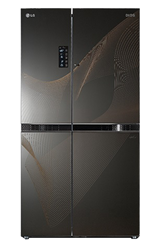 LG SIDE BY SIDE FRIDGE GC-M237JGQN