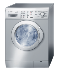 BOSCH FRONT LOADER WASHING MACHINE (SILVER) <BR />MODEL: WAE201S3ZA