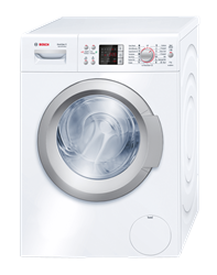 BOSCH FRONT LOADER WASHING MACHINE (WHITE) <BR /> MODEL: WAQ24441BY
