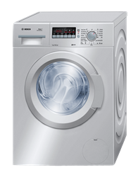 BOSCH FRONT <BR />LOADER WASHING MACHINE (SILVER) <BR /> MODEL: WAK2020SME