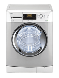 DEFY FRONT <BR />LOADER WASHING MACHINE (METALLIC)<BR />MODEL: DAW372