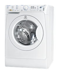 INDESIT FRONT LOADER WASHING MACHINE (WHITE) MODEL: PWC81272