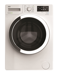 DEFY FRONT  <BR &#47:>LOADER WASHING MACHINE (METALLIC) MODEL: MCY81233MLCM