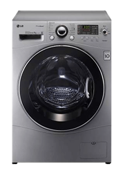 LG FRONT LOADER WASHING MACHINE (SILVER) MODEL: F1480FDS5