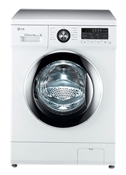 LG FRONT <BR />LOADER WASHING MACHINE (WHITE) <BR /> MODEL: F1496TDP3