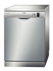 BOSCH <BR /> DISHWASHER (SILVER) <BR /> MODEL: SMS43D08ME