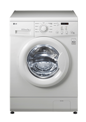 LG FRONT <BR />LOADER WASHING MACHINE (WHITE) <BR /> MODEL: F10C3QDP2