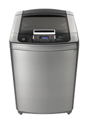 LG TOP LOADER WASHING MACHINE (SILVER) MODEL: T1103ADP6