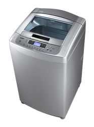 LG TOP LOADER WASHING MACHINE (SILVER) MODEL: T1108TEFTN
