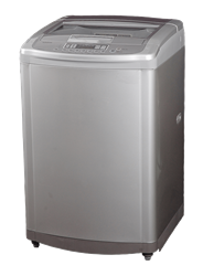 LG TOP LOADER WASHING MACHINE (SILVER) MODEL: T1449TEFT1