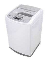 LG TOP LOADER WASHING MACHINE (WHITE) MODEL: T1450TEFT