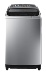 SAMSUNG TOP LOADER WASHING MACHINE (SILVER) MODEL: WA13J5730SS
