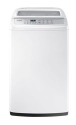 SAMSUNG TOP LOADER WASHING MACHINE (WHITE) MODEL: WA90H4200SW