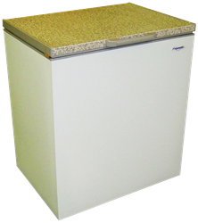 FRIDGESTAR <BR /> CHEST FREEZER (METALLIC) <BR /> MODEL: CF211F-M