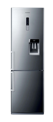 SAMSUNG DOUBLE DOOR FRIDGE (SILVER) MODEL: RL48RWCIH1