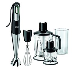 BRAUN HAND BLENDER (BLACK) <BR /> MODEL: MQ5137BK